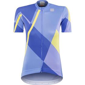Sportful Aurora Kortærmet cykeltrøje Damer, parrot blue